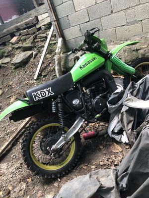 Kawasaki dirt bike KDX400 for Sale in Atlanta, GA