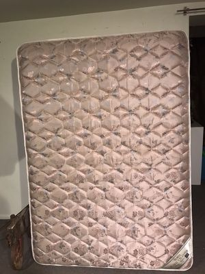 Full size box Spring & Mattress for Sale in Salt Lake City, UT