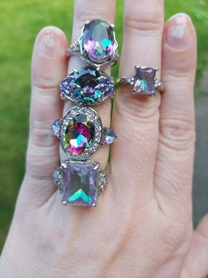 Mystic topaz rings for Sale in Springfield, OR