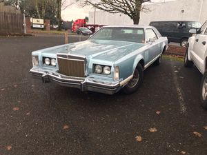 1977 1978 1979 Lincoln Mark V parts car + parts for sale. for Sale in Portland, OR