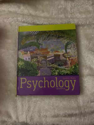 Psychology 9th Ed. for Sale in Ontario, CA
