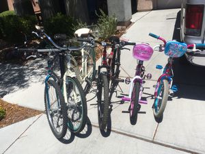 Bikes for the whole family for Sale in Las Vegas, NV
