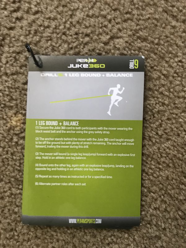 Per4m resistance band for speed training