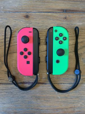 Nintendo switch joy cons like new for Sale in Greenville, SC