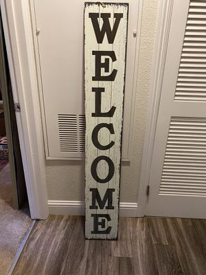 Welcome sign for Sale in Sacramento, CA