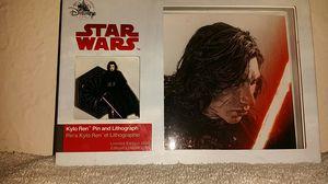 Star Wars Disney Store Kylo Ren Pin LE 2000 for Sale in Phoenix, AZ