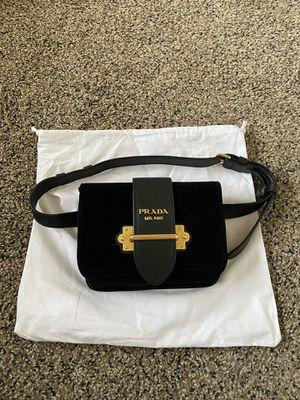 Velvet Prada belt bag /chain bag for Sale in San Francisco, CA
