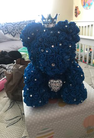 Rose teddy bear for Sale in El Cajon, CA