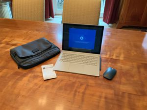 Microsoft Surface Book 2 - 13 inch i7/8/256 with Consumer Complete Warranty, Microsoft Office 365 Home, Sleeve, Mouse, USB adapter, and surface pen. for Sale in Harwinton, CT