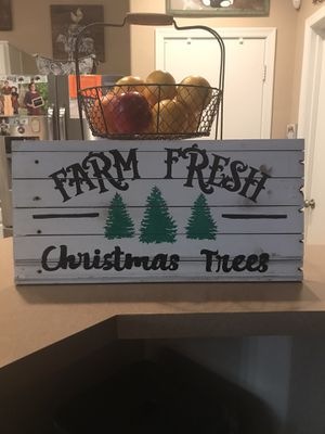 Holiday hand painted sign for Sale in Apache Junction, AZ