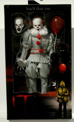 Neca Clothed Pennywise IT Horror Movie Collectible Action Figure Toy for Sale in Chicago, IL