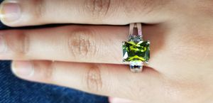 Greenish yellow stainless steel Ring size 7 for Sale in Chicago, IL