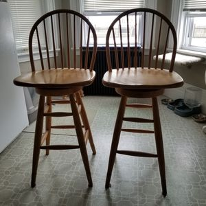 A pair of stools chairs for Sale in Beverly, MA