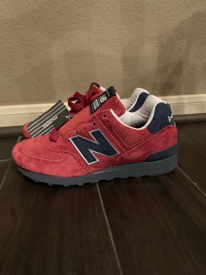 New Balance US574XAD MADE IN THE GREAT USA Connoisseur Red Men Size 7.5 Women 9 for Sale in Conroe, TX