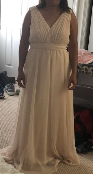 Blush Maternity wedding bridesmaid dress for Sale in Centreville, VA