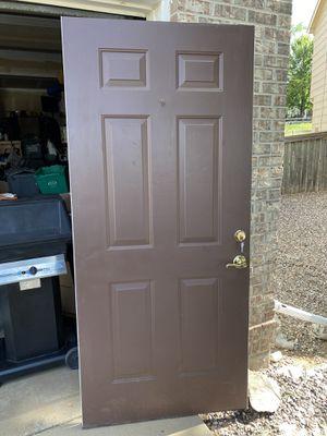 Front door AND storm door with keys for Sale in Littleton, CO