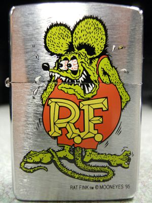 Zippo Rat Fink Lighter XII 1996 1995 Ed Roth Mooneyes Hot Rod Racing Big Daddy NEW for Sale in Los Angeles, CA