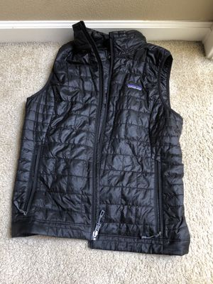 Patagonia nanopuff down vest for Sale in West Linn, OR