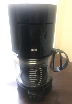 Coffee Maker 10 cups - Braun for Sale in Germantown, MD