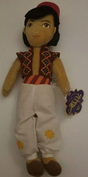 Disney Aladdin Brand New Plush Doll 17 inches for Sale in Battle Ground, WA
