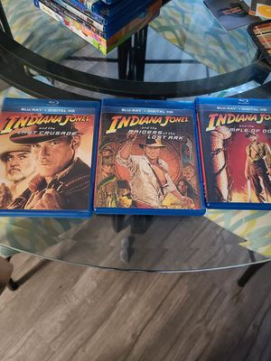 Indiana Jones Trilogy blu rays for Sale in Lacey, WA