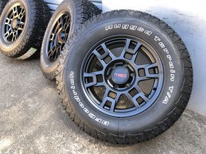 Toyota Tacoma 4Runner TRD PRO Replica wheels Rims 265/70R17 BFGoodrich Tires for Sale in Fairfield, CA