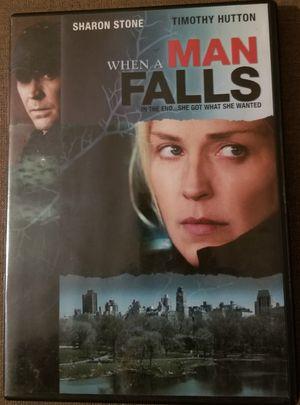 When a Man Falls dvd movie stars Sharon Stone for Sale in Three Rivers, MI