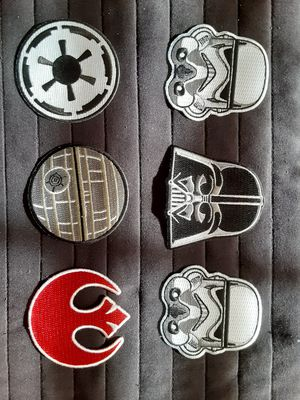 Star Wars Embroidered patches for Sale in Miami, FL