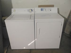 GE 9 Cycle Washer and GE Profile electronic Dryer for Sale in Avondale, AZ