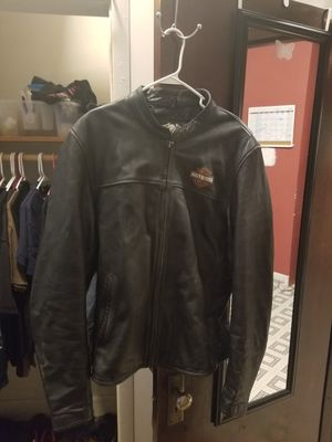 Harley's xl tall riding jacket for Sale in Henry, IL