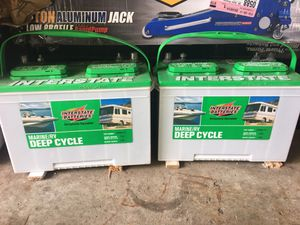 Interstate Batteries SRM-27 Marine/RV Deep Cycle Battery for Sale in Dearborn, MI