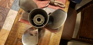 21 pitch stainless prop for Sale in Apache Junction, AZ