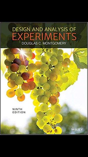 Design and Analysis of Experiments 9th Edition ebook PDF for Sale in New York, NY