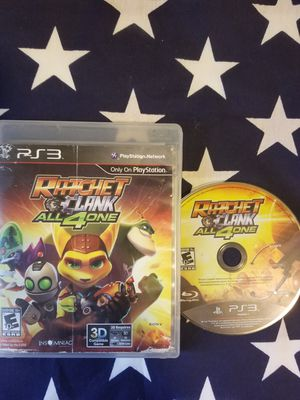 Ratchet & Clank All 4 One (PS3) for Sale in US
