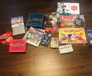 Games,fidget spinners, and a 1000 piece puzzle for Sale in Charlotte, NC