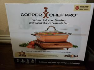 Copper Chef Pro Cooktop/Casserole Pan for Sale in Frisco, TX