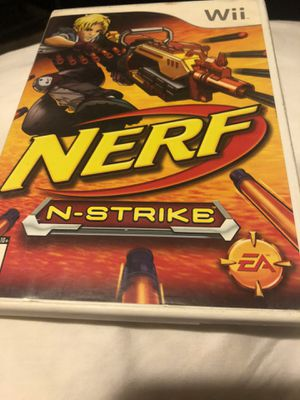 Nerf n strike for wii for Sale in Whittier, CA