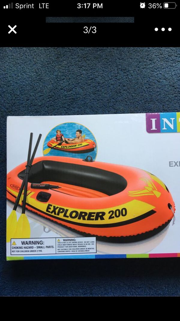 Brand New 2 person inflatable Boat