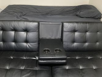 Leather Futon for Sale in Catonsville,  MD
