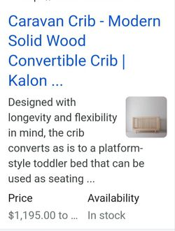 Crib/toddler Bed for Sale in San Angelo,  TX