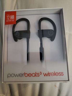 POWERBEATS WIRELESS 3 new never used sealed beats by dre for Sale in Corona, CA