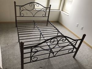 Giantex Full-Sized Metal Bed Frames (2) for Sale in Madison, WI
