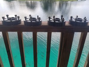WHEEL SPACER G2 5X5 INCH, BOLT PATTERN WITH 1.5 INCH OFFSET J for Sale in Miami Lakes, FL