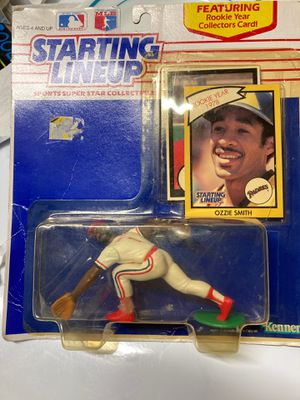 Ozzie Smith Starting line with RC card for Sale in Warrenton, VA