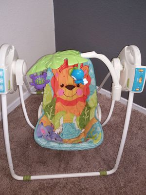 Fisher Price Open Top Taken-Along Swing for Sale in Arlington, TX