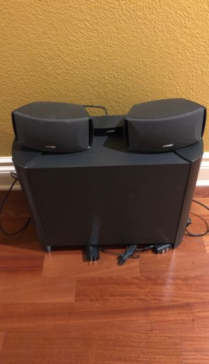 Bose CineMate speaker system for Sale in Round Rock, TX