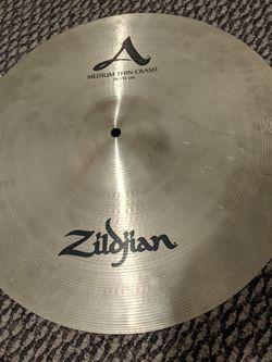 "A Zildjian 16"" and 18"" Medium Thin Crash for Sale in Ellensburg,  WA"