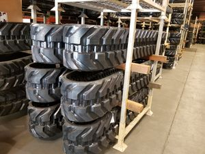 Rubber tracks for construction equipment for Sale