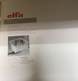 Hardware For Elfa Inside Cabinet Drawers New In Box for Sale in Frisco,  TX