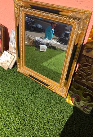 Antique mirror gold s d black clean for Sale in Union City, CA